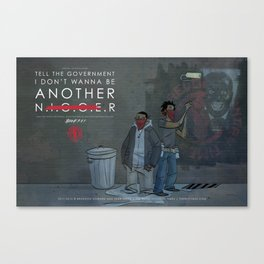 Not Another...  Canvas Print