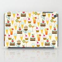 dessert iPad Cases featuring Dessert by Valendji