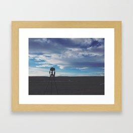 Colorado Silhouette Framed Art Print