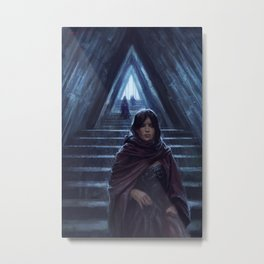 Triangle Hall Metal Print