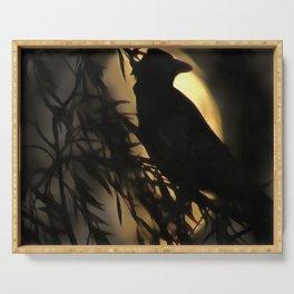 Raven Moon Serving Tray