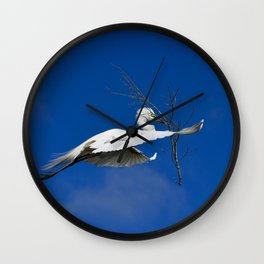 Fly Softly and Carry a Big Branch Wall Clock