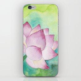Lotus Bloom iPhone Skin