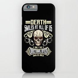 Correctional Officer Gift iPhone Case