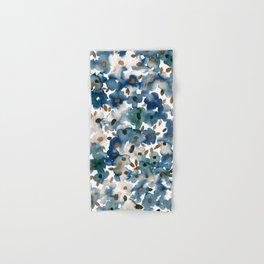 Georgia Floral Blue Hand & Bath Towel