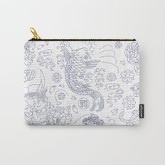 Japanese Tattoo Carry-All Pouch