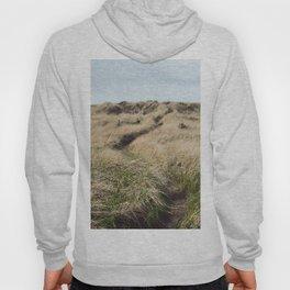 Oregon Dune Grass Adventure - Nature Photography Hoody