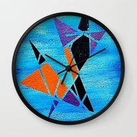 ninja Wall Clocks featuring Ninja by takingachancexo