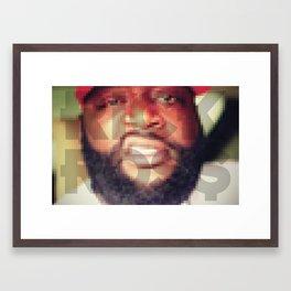 Pixel  Rozey Framed Art Print