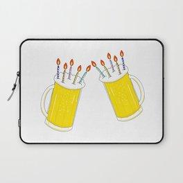 Beer birthday Laptop Sleeve