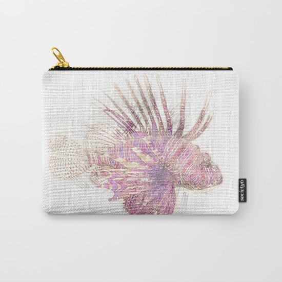 Lets draw a Lionfish Carry-All Pouch