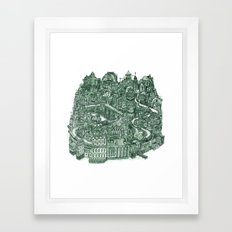 Two Cannels Framed Art Print