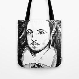 Christopher Marlowe Portrait Tote Bag