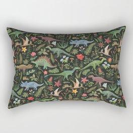 Dinosaur Jungle Rectangular Pillow
