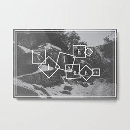 Climber Life Metal Print