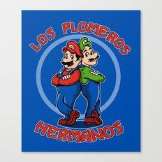 Los Plomeros Hermanos Canvas Print
