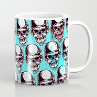 kindle Mugs featuring 202 by ALLSKULL.NET