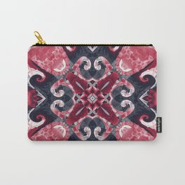Hearts and Twisters Carry-All Pouch