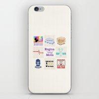 "regina mills iPhone & iPod Skins featuring Regina ""Sassy"" Mills by CLM Design"