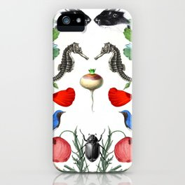 Flora & Fauna iPhone Case