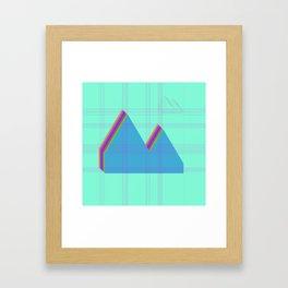 Reykjavik Boulevard #07 Framed Art Print