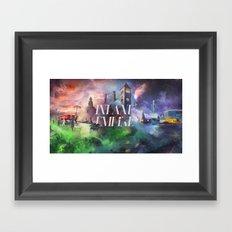 Inland Empire Framed Art Print