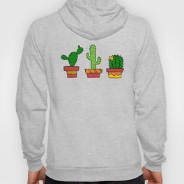 Colorful Cactus in Mexico Hoody