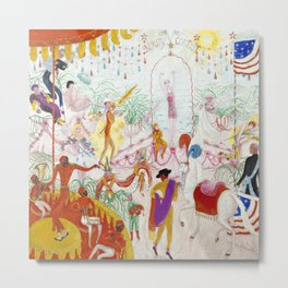 """Florine Stettheimer """"Beauty Contest - To the Memory of P.T. Barnum"""" Metal Print"""