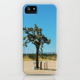 Joshua Tree Mailboxes iPhone Case