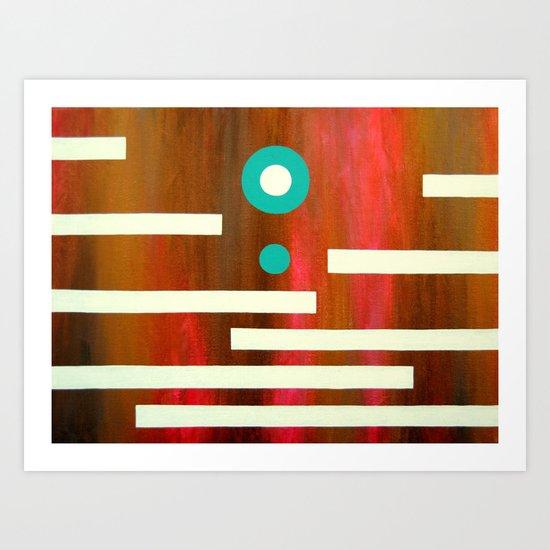Zip Up Art Print