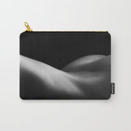 back naked women BW Carry-All Pouch