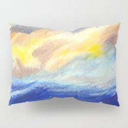 just sky and ocean Pillow Sham