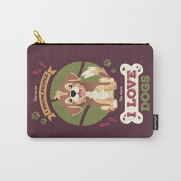 I Love Dogs! Carry-All Pouch