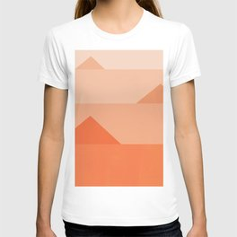 Abstraction_Triangles_001 T-shirt