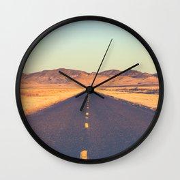 Lost Highway II Wall Clock
