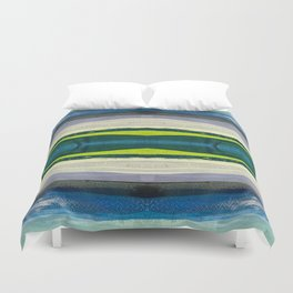 Water Waves I Duvet Cover