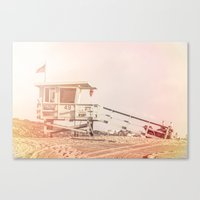"bruno mars Canvas Prints featuring Bruno Mars ""Billionaire"" Video Lifeguard Tower by SoCal Chic Photography"