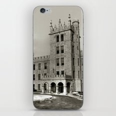 Northern Illinois University Castle - Black and White iPhone & iPod Skin