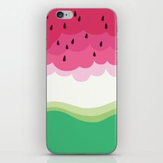 Big watermelon iPhone & iPod Skin