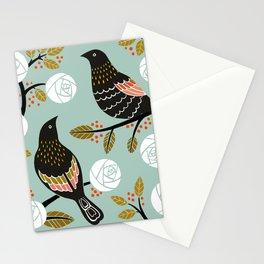 Winterbirds Stationery Cards
