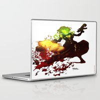 aquaman Laptop & iPad Skins featuring Anne Frankenstein AF2 by Lazy Bones Studios