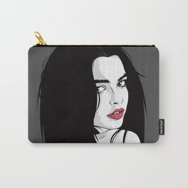 Brown eyes Carry-All Pouch