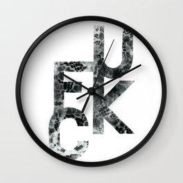 kcuf Wall Clock