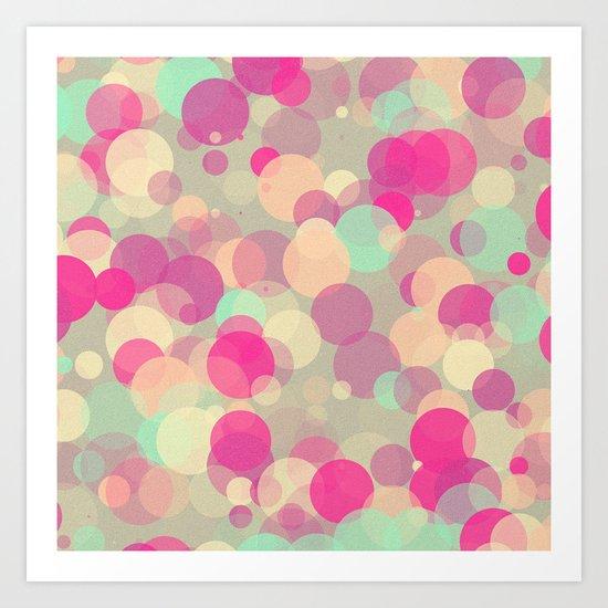 Colorful Bubbles 2 Art Print