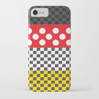 minnie iPhone & iPod Cases featuring Minnie by AmadeuxArt