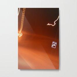 In The Fast Lane Metal Print