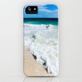 Tulum Waves iPhone Case