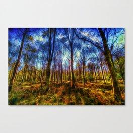 Forest Mystical Art Canvas Print