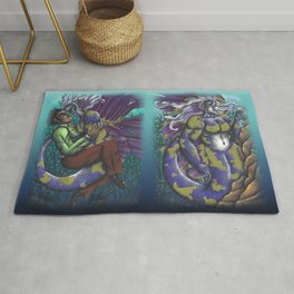 Mermaid double set Rug