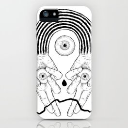 Black Rainbow Holiday Special. iPhone Case